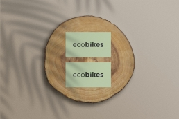 Eco Bikes Business Cards