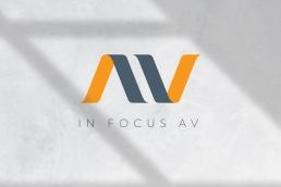 In Focus AV Logo