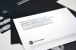 Wynyard Group Postcard Design