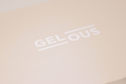 Gelous Logo on Packaging