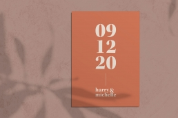 The Syms Wedding Invitation