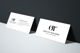 OT Quality Builders Villa Specialists Business Cards