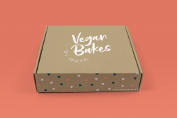 Vegan Bakes by Maya Packaging Design