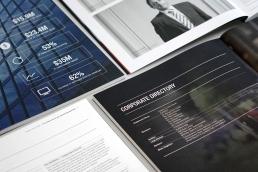 Wynyard Group Annual Report - Print Design
