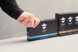 Vape Bandit E-Liquid Packaging Photography